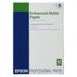 Epson Enhanced Matte - Mat - A3 plus (329 x 423 mm) - 192 g/m² - 100 feuille(s) papier - pour SureColor SC-P700, P7500, P900, P