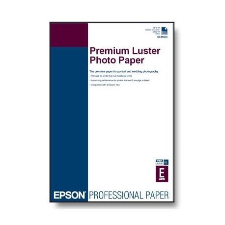 Epson Premium Luster - Brillant - A4 (210 x 297 mm) 250 feuille(s) papier photo - pour SureColor SC-P700, P7500, P900, P9500, T