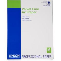 Epson Fine Art Velvet - Velours - A2 (420 x 594 mm) 25 feuille(s) papier pour beaux arts - pour SureColor P5000, P800, SC-P1000