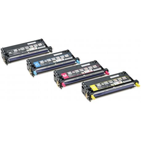 Epson - Haute capacité - jaune - originale - cartouche de toner - pour AcuLaser C3800DN, C3800DTN, C3800N