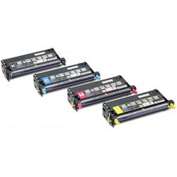 Epson - Haute capacité - cyan - originale - cartouche de toner - pour AcuLaser C3800DN, C3800DTN, C3800N