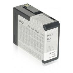 Epson T5809 - 80 ml - noir clair - originale - cartouche d'encre - pour Stylus Pro 3800, Pro 3880