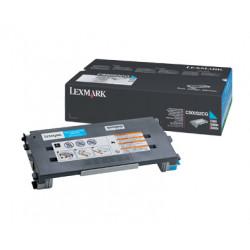 Lexmark - Cyan - original - cartouche de toner - pour Lexmark C500n, X500n, X502n