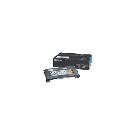 Lexmark - Magenta - original - cartouche de toner - pour Lexmark C500n, X500n, X502n