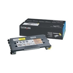 Lexmark - Jaune - original - cartouche de toner - pour Lexmark C500n, X500n, X502n