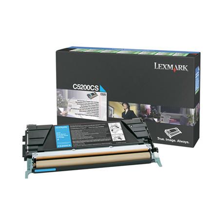 Lexmark - Cyan - originale - cartouche de toner LCCP, LRP - pour Lexmark C520n, C530dn, C530n