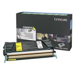 Lexmark - Jaune - originale - cartouche de toner LRP - pour Lexmark C520n, C530dn, C530n