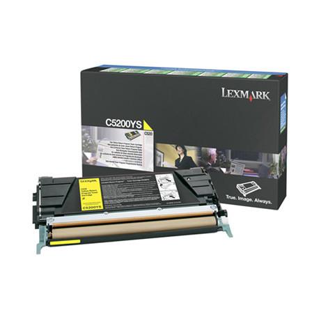 Lexmark - Jaune - original - cartouche de toner LRP - pour Lexmark C520n, C530dn, C530n