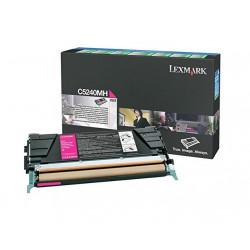 Lexmark - cartouche de toner - a rendement eleve - 1 x magenta - 5000 pages - lrp