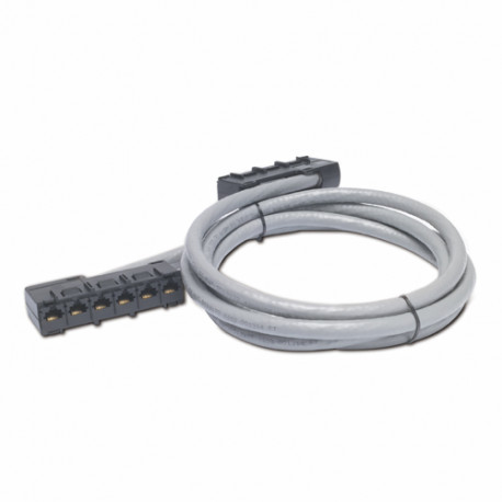 APC Data Distribution Cable - Câble réseau - Conformité TAA - RJ-45 (F) pour RJ-45 (F) - 8.2 m - UTP - CAT 5e - gris