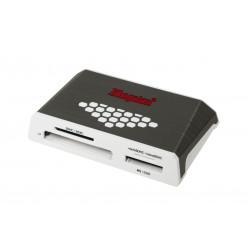 Kingston High-Speed Media Reader - Lecteur de carte (CF I, CF II, MS, MS PRO, SD, MS Duo, MS PRO Duo, CF, microSD, SDHC, microS