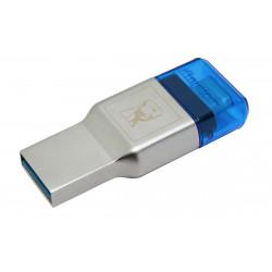 Kingston MobileLite Duo 3C - Lecteur de carte (microSD, microSDHC UHS-I, microSDXC UHS-I) - USB 3.1 Gen 1 - pour Apple MacBook