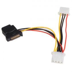 StarTech.com Câble d'alimentation adaptateur SATA vers LP4 avec 2 LP4 supplémentaires - Adaptateur secteur - alimentation inte
