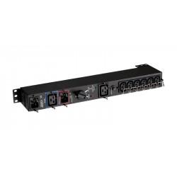 "Eaton HotSwap MBP - Bypass switch (rack-montable) - CA 220-240 V - 3000 VA - connecteurs de sortie : 7 - 19"""