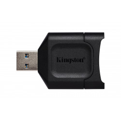Kingston MobileLite Plus - Lecteur de carte (SD, SDHC, SDXC, SDHC UHS-I, SDXC UHS-I, SDHC UHS-II, SDXC UHS-II) - USB 3.2 Gen 1