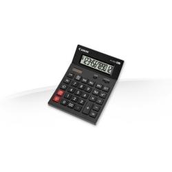 Canon AS-2200 - Calculatrice de bureau - 12 chiffres - panneau solaire, pile - gris foncé