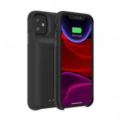 mophie Juice Pack access - Boîtier de batterie coque de protection pour téléphone portable - noir - pour Apple iPhone 11