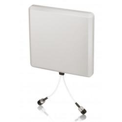 Zyxel ANT1313 - Antenne - 13 dBi, 13.5 dBi - directionnel - extérieur - blanc grisé