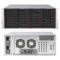 Supermicro SC846 BE1C-R1K23B - Montable sur rack - 4U - Extended ATX améliorée - SATA/SAS - hot-swap 1200 Watt - noir
