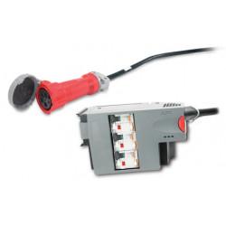 APC Power Distribution Module - Disjoncteur automatique (module enfichable) - CA 400 V - triphasé - connecteurs de sortie : 1 -