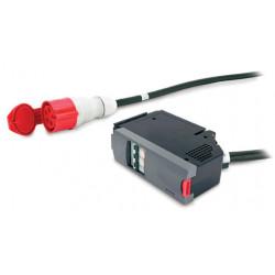 APC IT Power Distribution Module - Disjoncteur automatique (module enfichable) - CA 400 V - triphasé - connecteurs de sortie :