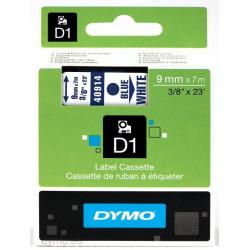 Ruban DYMO DYMO D1 9mmX7m Bleu&W