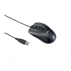 Fujitsu M440 ECO - Souris - droitiers et gauchers - optique - 3 boutons - filaire - USB - noir - OEM - pour Celsius C780, J5010