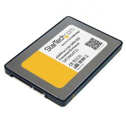 """StarTech.com Boîtier convertisseur SSD SATA vers Mini SATA 2,5"""" - Adaptateur SSD SATA vers mSATA 2,5 po - Boitier externe - 2."""
