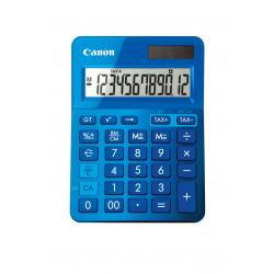 Canon LS-123K - Calculatrice de bureau - 12 chiffres - panneau solaire, pile - bleu métallique