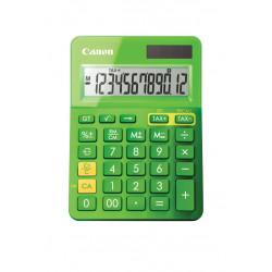 Canon LS-123K - Calculatrice de bureau - 12 chiffres - panneau solaire, pile - vert métallique