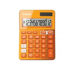 Canon LS-123K - Calculatrice de bureau - 12 chiffres - panneau solaire, pile - orange métallisé