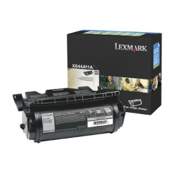 Lexmark - Noir - originale - cartouche de toner LRP - pour Lexmark X642e, X644dte, X644e, X646dte, X646dtem, X646dtes, X646e, X