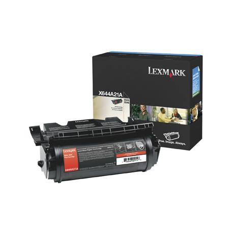 Lexmark - Noir - original - cartouche de toner - pour Lexmark X642e, X644dte, X644e, X646dte, X646dtem, X646dtes, X646e, X646ef