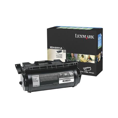 Lexmark - À rendement élevé - noir - originale - cartouche de toner LRP - pour Lexmark X642e, X644dte, X644e, X646dte, X646dtem