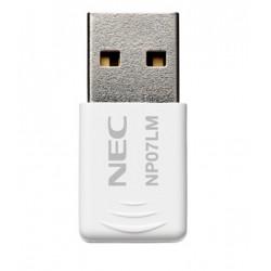 NEC NP07LM - Adaptateur réseau - USB - 802.11b/g/n - pour NEC L102W LED