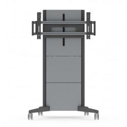 "NEC Automatic Height-adjustable Trolley PD03MHA - Chariot pour écran plasma / LCD - Taille d'écran : 46"" -98"""