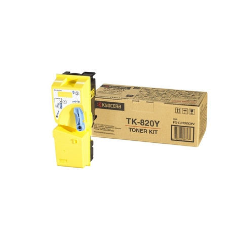TK-820Y Toner/yellow f FS-C8100DN