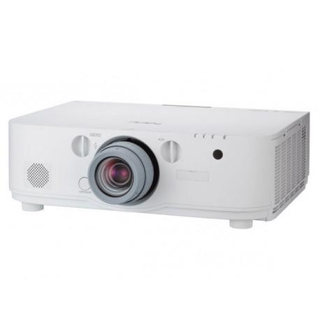NEC PA621U - Projecteur LCD - 3D - 6200 ANSI lumens - WUXGA (1920 x 1200) - 16:10 - 1080p - aucune lentille