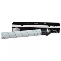Lexmark 640H - À rendement élevé - noir - originale - cartouche de toner LCCP - pour Lexmark MX910de, MX910dte, MX911dte, MX912
