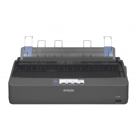Epson LX 1350 - Imprimante - Noir et blanc - matricielle - A3 - 240 x 144 dpi - 9 pin - jusqu'à 357 car/sec - parallèle, USB,