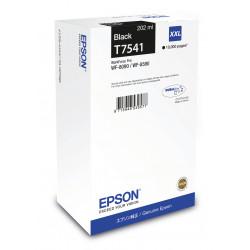 Epson T7541 - 202 ml - taille XXL - noir - original - cartouche d'encre - pour WorkForce Pro WF-8090, WF-8090 D3TWC, WF-8090DW