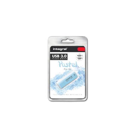 Integral Pastel - Clé USB - 8 Go - USB 3.0 - Ciel bleu