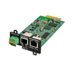 Eaton Network and MODBUS Card-MS - Carte de supervision distante - 100Mb LAN, RS-232, RS-485, Modbus