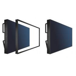 NEC Over Frame Kit - Système de cadre mural vidéo - noir - pour MultiSync X554UNS