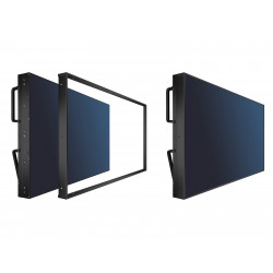 NEC KT-55UN-OF2 - Composant de montage (cadre) - pour mur vidéo - montable sur mur - pour MultiSync X462UNV, X463UN, X464UN