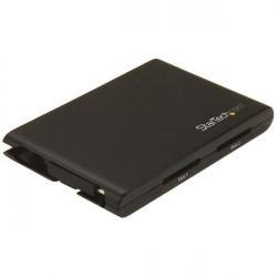 StarTech.com Lecteur de cartes USB C - Lecteur et enregistreur de cartes SD dual-slot - Compatible Thunderbolt 3 - Noir - Lecte