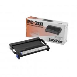 Brother PC301 - Noir - ruban d'impression - pour Brother MFC-970, MFC-970MC, IntelliFAX 750, 770, 775, 775SI, 870MC, 875MC, 88