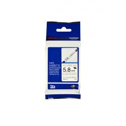 Brother HSe-211 - Noir sur blanc - Rouleau (0,58 cm x 1,5 m) 1 rouleau(x) tube - pour P-Touch PT-D600, D800, E500, E550, E800,