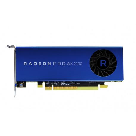 AMD Radeon Pro WX 2100 - Carte graphique - Radeon Pro WX 2100 - 2 Go - PCIe 3.0 x16 - 2 x Mini DisplayPort, DisplayPort - pour