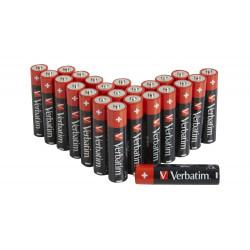 Verbatim - Batterie 24 x AAA / LR03 - Alcaline
